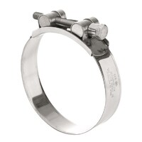 TRIDON T BOLT HOSE CLAMP - ALL STAINLESS STEEL 40 - 43mm TTBS40-43 x2