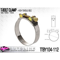 TRIDON T BOLT CLAMP 104 - 112mm FOR TURBO PIPE & INTERCOOLER TTBY104-112 x1