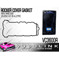 ROCKER COVER GASKET R/H SUIT HOLDEN ADVENTRA VZ V6 3.6L LY7 ALLOYTEC 2005 - 2006