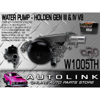 WATER PUMP SUIT HOLDEN VX VY VZ V8 5.7L THERMOSTAT & HOUSING CLUBSPORT R8 GTS