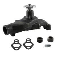 GMB W2593 CAST IRON WATER PUMP SUIT CHEV CHEVROLET SBC V8 305 307 327 SHORT NOSE