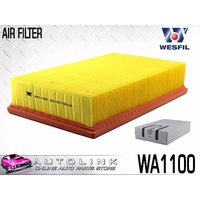 WESFIL AIR FILTER FOR FORD TRANSIT VJ 2.4L TURBO DIESEL 4CYL 4/2004 - 8/2006