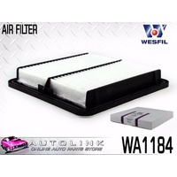 WESFIL AIR FILTER SUIT SUBARU IMPREZA WRX GG GE GH GR GV 2.5L TURBO 2005-2013
