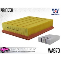 WESFIL AIR FILTER FOR AUDI A4 B5 B6 4CYL & V6 1995 - 12/2005 ( WA970 )