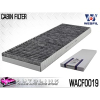 WESFIL CABIN FILTER FOR MAZDA 3 BK SP23 2.3L 4CYL 2004 - 3/2009 WACF0019