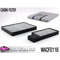 WESFIL CABIN FILTER SUIT HYUNDAI i30 FD 1.6L 4CYL TURBO DIESEL 10/2007 - 4/2012