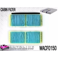 WESFIL CABIN FILTER FOR MAZDA 3 BL SP25 2.5L 4CYL 3/2009 - 11/2013 ( WACF0150 )