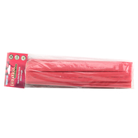 DNA HEAT SHRINK TUBING RED 16mm x 300mm LONG - 10 PACK WAH116