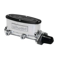 "WILWOOD BRAKE MASTER CYLINDER 1"" TANDEM CHAMBER - POLISHED FINISH WB260-8555-P"