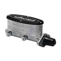 "WILWOOD WB260-8555 BRAKE MASTER CYLINDER 1"" BORE ALLOY TANDEM CHAMBER"