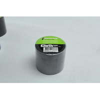SILVER CLOTH / RACE TAPE 48MM x 4.5 METRES ROLL 100 MPH / GAFFER TAPE WB7050