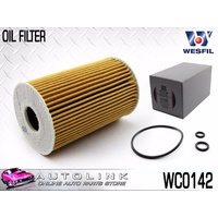OIL FILTER CARTRIDGE SUIT VOLKSWAGEN CARAVELLE T5 2.0L T/DIESEL 3/2010 - 6/2015