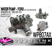 WATER PUMP SUIT FORD FAIRMONT XR XT XW 289 302 351 WINDSOR V8 CAST IRON OE STYLE