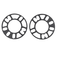 WHEEL SPACERS FOR 4 & 5 STUD STEEL MAG RIM PAIR 3mm THICK UNIVERSAL FORD HOLDEN