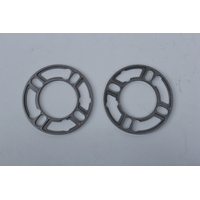 NICE WS504-2 WHEEL SPACERS FOR 4 STUD STEEL MAG RIM PAIR 5mm THICK UNIVERSAL