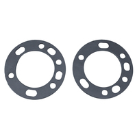WHEEL SPACERS FOR 5 & 6 STUD 4WD 4X4 STEEL ALLOY RIM MAG 7.3mm THICK UNIVERSAL