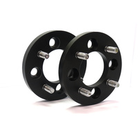 NICE WSS1541003-2 FORGED ALLOY 4 STUD WHEEL SPACERS 15mm THICK x 100mm PCD PAIR