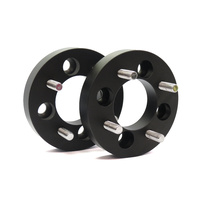 NICE WWSS2541003-2 FORGED ALLOY 4 STUD WHEEL SPACERS 25mm THICK x 100mm PCD PAIR