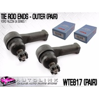 WASP WTE817 TIE ROD ENDS OUTER 14mm FOR FORD FALCON EA SERIES 1 2/1988-8/1989 x2