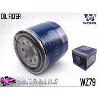 WESFIL OIL FILTER SUIT HYUNDAI i30 FD GD 4CYL 10/2007 - ON WZ79
