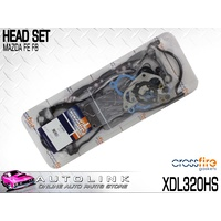 CROSSFIRE HEAD SET SUIT MAZDA B2000 E1800 E2000 1.8L 2.0L 4CYL 1984 - 2002