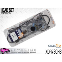 CROSSFIRE HEAD SET FOR FORD SPECTRON 2.0L FE 4CYL 5/1986 - 4/1990 XDR730HS