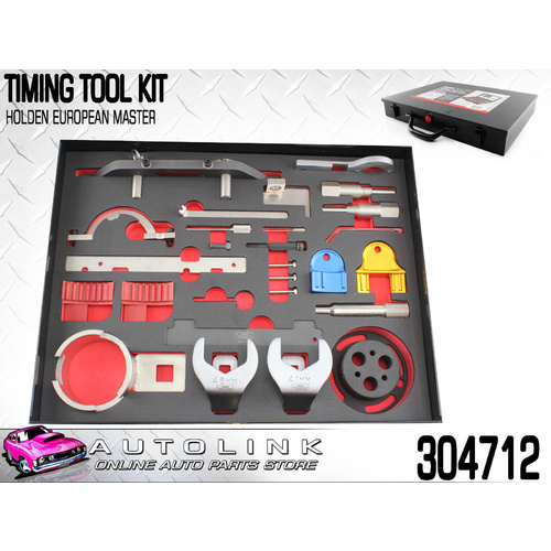 TOLEDO 304712 TIMING TOOL KIT FOR HOLDEN 1.8L X18 Z18 F18D4 , 2.2L Z22 C22SEL