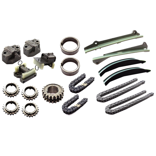 TIMING CHAIN KIT WITH GEARS TO SUIT FORD FALCON BA BF XR8 BOSS 260 V8 2002-ON