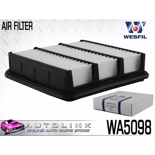 WESFIL AIR FILTER FOR HYUNDAI i45 YF 2.0L DOHC 4CYL 5/2010 - 12/2012 ( WA5098 )