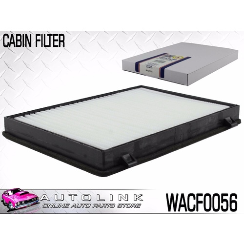 WESFIL CABIN FILTER SUIT HOLDEN CAPTIVA CG 2.4L 4CYL 3.2L V6 10/2006 - 2/2011
