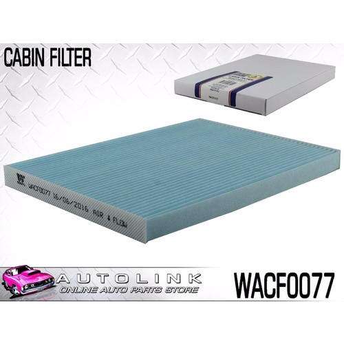 WESFIL CABIN FILTER FOR NISSAN X-TRAIL T31 2.0L 4CYL TURBO DIESEL 10/2007-2013