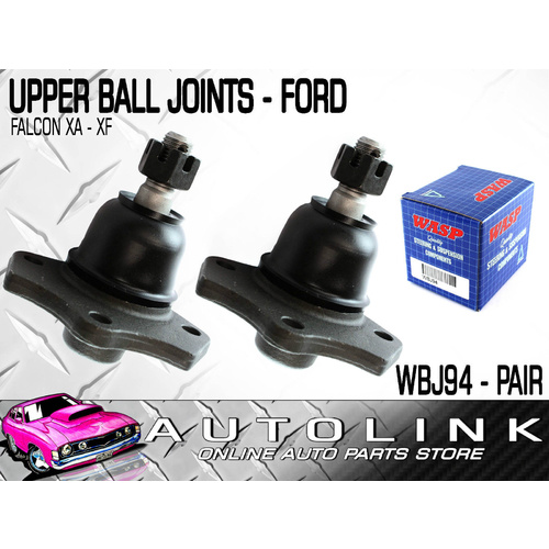 BALL JOINTS FRONT UPPER SUIT FORD FAIRLANE ZF ZG ZH ZJ ZK ZL 1972 - 1988 PAIR